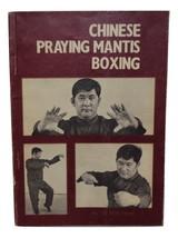 Book. Chinese Praying Mantis Boxing. Vintage -1973. - $24.00