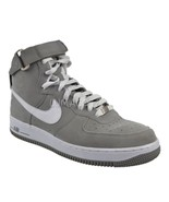 Nike Air Force 1 High '07 Charcoal/White Mens Size 8.5 [315121 001] - $53.99