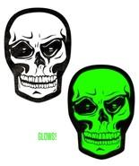 White Skull/Green Glow-in-the-Dark Nipple Pasties - $10.88
