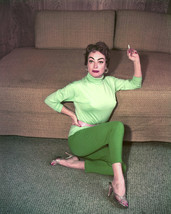 Joan Crawford 8x10 Photo posing at home with cigarette - $7.99