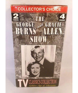 TV Classics Collection: The Burns & Allen Show, (VHS, 1994) 2 Tapes 4 Ep... - $6.99