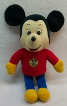 Disney Knickerbocker Mickey Mouse Club Mickey Mouse Plush Stuffed Animal Toy - $39.60