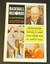 1967 Baseball Records by John Brickhouse & WGN Radio Cubs, White Sox - $18.81