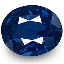 IGI Certified MADAGASCAR Blue Sapphire 0.87 Cts Natural Untreated Oval - $1,523.00