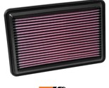 K&N Replacement Air Filter Fits Nissan Rogue L4-2.5L F-I, 2014-2015 33-5016