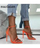 11CM Summer Gladiator Platform Pump Shoes Women Peep Toe High Heel Shoes... - $36.00+