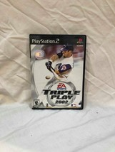 Video Game Plystation PS2 Triple Play Sony 2002 - $1.29