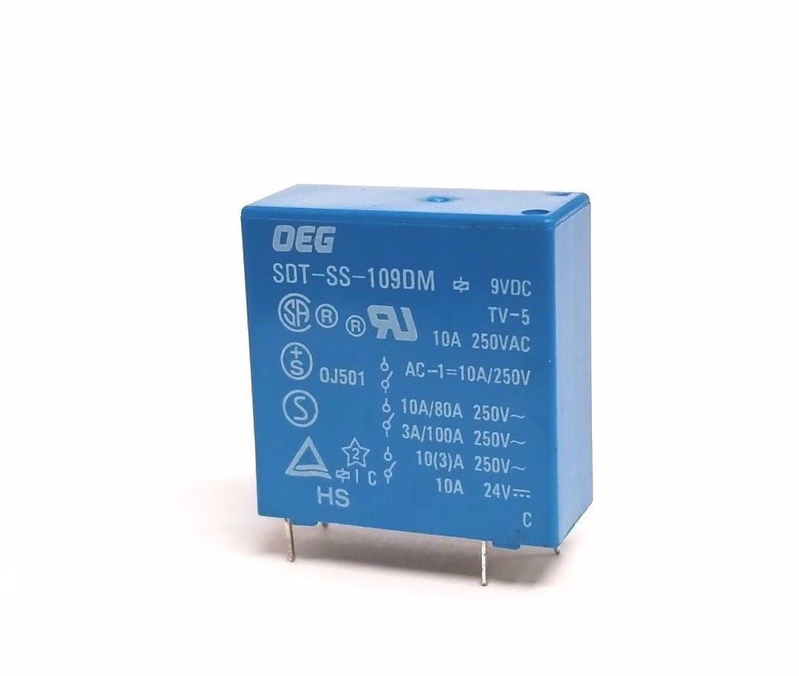 SDT-SS-109DM Relay Gen Purpose Spst 10A 9V 1 and similar items