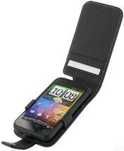 Monaco Flip Type Black Leather Cover Case W/Detachable Belt Clip For Ver... - $12.82
