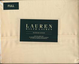 Ralph Lauren Dunham Daffodil Pale Yellow Sheet Set Full - $74.00