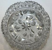 American Brilliant Period hand Cut Glass bowl ABP antique BD5 - $64.17