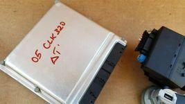 03-05 Mercedes Benz E320 C320 C32 ECU EIS Engine Computer Key Set A1121536679 image 9