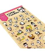 [Panda] 5 Sheets Lovely DIY Decorative Stickers Craft Scrapbooking Stickers - $13.91