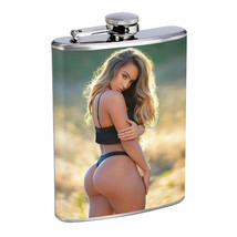 Colorado Pin Up Girls D3 Flask 8oz Stainless Steel Hip Drinking Whiskey - €11,15 EUR