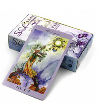 Shadowscapes Tarot Board Game 78 PCS/Set Beautiful Cards Game Chinese/En... - $15.08
