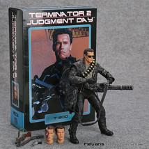 NECA Terminator 2: Judgment Day T-800 Arnold Schwarzenegger PVC Action F... - $34.64