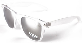 Sunscape Flash Dazed N Confused Clear Silver Mirror Adventurer Sunglasses