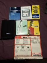 2002 Ford Windstar Van OEM Owner Owner's Manual & Supplemental Documents & Case - $12.61