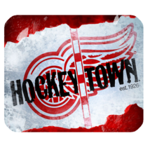Mouse Pads Hockeytown Symbol Cute And Funny Animation Sports Editions Mousepads - $6.00