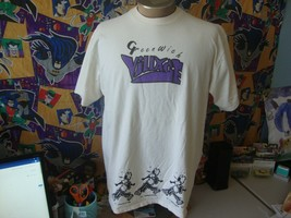 Vintage 90's Greenwich Village New York City NYC wet paint 1993 T Shirt XL - $39.59