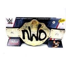 NWO WCW Championship Wrestling Kids Belt WWE Mattel - $49.49
