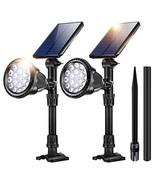 Outdoor Solar Lights,18 LED Spotlight Waterproof Landscape Lights Solar ... - $41.34