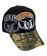Don't Mess with Texas Men's Camouflage Adjustable Baseball Cap (Black) - $10.95
