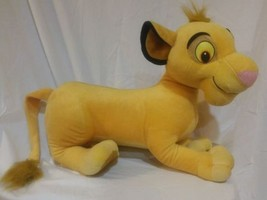 Large Simba Lion King Plush Disney 2002 - $44.50