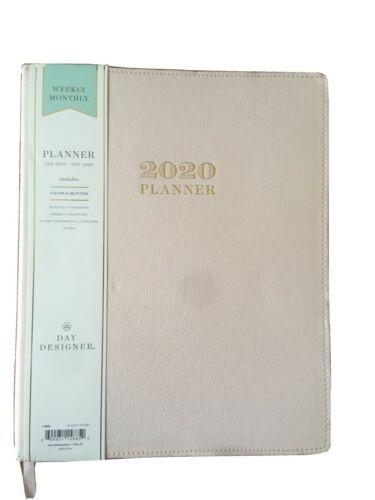 """2020 Academic Planner 8"""" x 10"""" FL Bookbound Blush - Day Designer"""