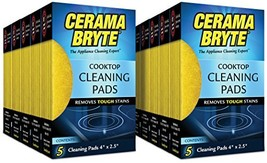 Cerama Bryte Glass-Ceramic Cooktop Cleaning Pads, 50 Count - $28.76