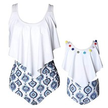 Baby Gril Swimsuits Mommy and Me Bathing Suits Family Matching Two Piece... - $15.02