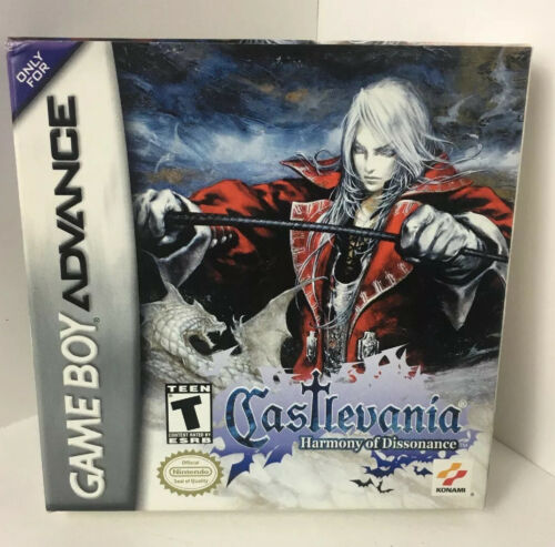 GBA Castlevania Harmony Of Dissonance  BOX & MANUAL ONLY No Game