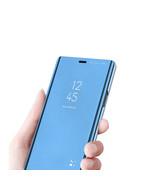 Apple iphone 11 pro XS 8 Pro Max Plus Mirror Shockproof Flip Clear Case ... - $64.67