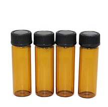 30 Pcs Amber Glass 5 ml/0.17OZ Essential Oil Perfumes Bottle Container V... - $13.85