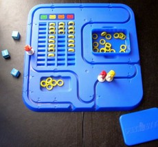 PUSHOVER – Piggy Back Marathon Board Game by Parker Brothers 1981 Family Game - $39.59