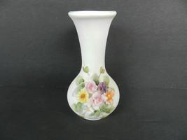 Vintage Lefton Small Vase Floral KW 1847 4 Inch... - $9.90
