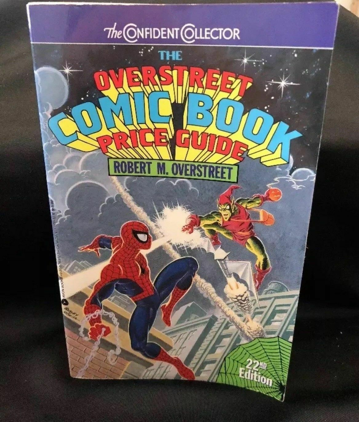 Primary image for Overstreet Comic Book Price Guide 22nd Edition 1st Edition Print good condition