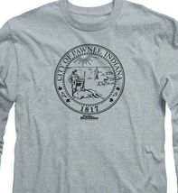 City of Pawnee Indiana 1817 t-shirt Parks & Recreation long sleeve tee NBC348 image 3
