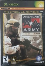 """AMERICA'S ARMY """" RISE OF A SOLDIER"""" XBOX - $3.93"""