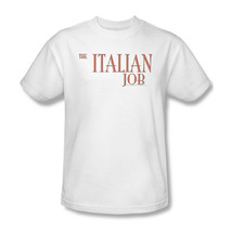 The Italian Job T shirt 1990's movie retro 100% cotton graphic white tee PAR223 image 2
