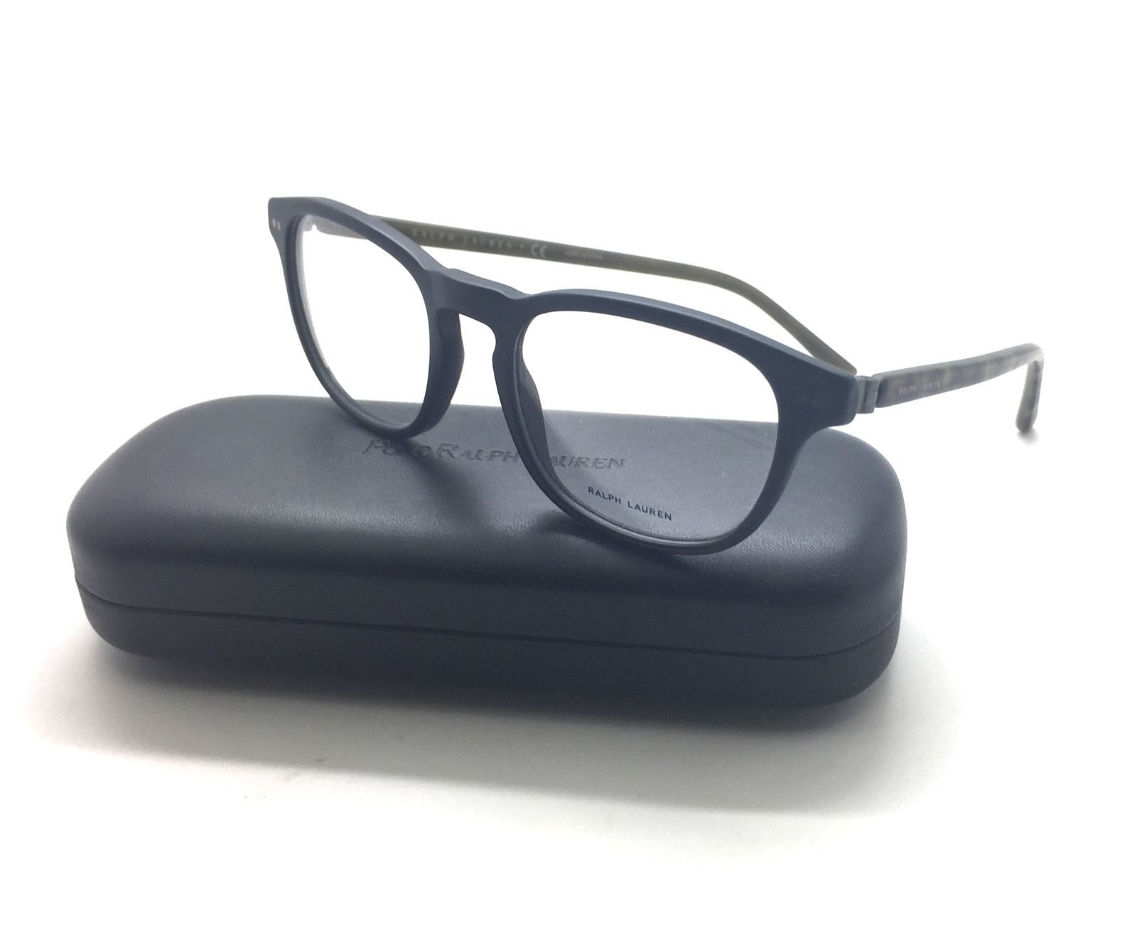 a059950650 Polo Ralph Lauren PH 2107 Matte Black 5284 Eyeglasses Olive 50-19-145 Brown  -  77.57