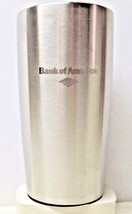 """Stainless Steel Coffee Thermos Cup - Bank of America Logo - 7"""" tall (158) - $8.21"""