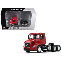 Volvo VNR 300 Day Cab Sun Red 1/64 Diecast Model by First Gear 60-0371 - $48.74