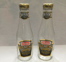 heinz ketchup heinz field steelers 2 limited edition  empty ketchup bottles - $21.73
