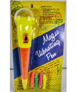 Vintage Magic Vibrating writing Ink Pen battery operated new in package ... - $24.99