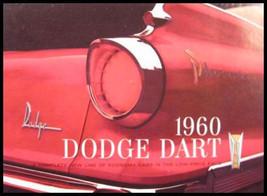 1960 Dodge Dart Prestige Sales Brochure HUGE - $19.33