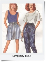Simplicity 9032 Sewing Pattern Misses Top Pull ... - $2.79