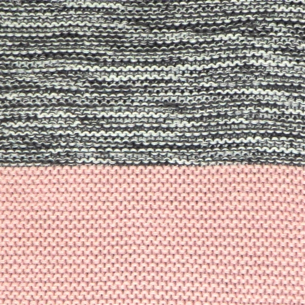 Pillow Decor - Hygge Espen Pale Pink Knit Pillow