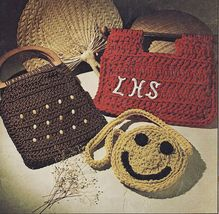 12 Vintage Crochet Macrame Cords African Daisy Evening Clutch Purse Patt... - $11.99