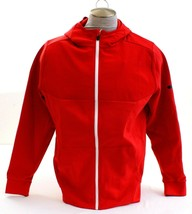 Under Armour Red UA Unstoppable Knit Full Zip Hoodie Hooded Jacket Men's... - $59.99